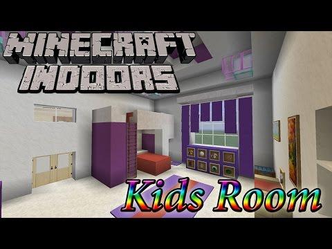 Minecraft Indoors - Kids Room