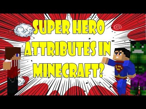 Superhero attributes in Minecraft w/EthDo