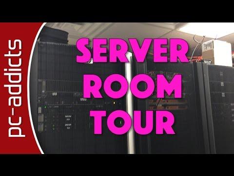 Server Room Tour - PC-Addicts