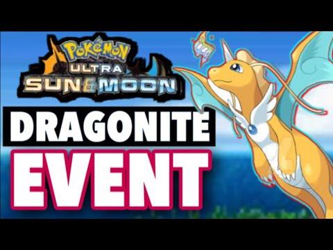 POKÉMON EVENT DRAGONITE?! Pokémon Ultra Sun and Pokémon Ultra Moon Easter Egg Event Ultra Sun