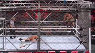 John Cena vs. Dolph Ziggler: Steel Cage Match - Raw, Jan. 14, 2013