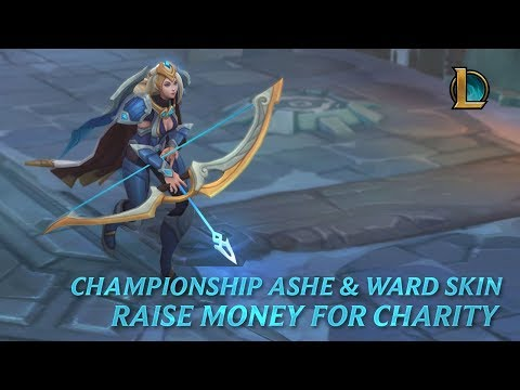 Championship Ashe & Ward – Raise Money for Charity