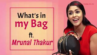 What's in my Bag with Mrunal Thakur | Super 30 | Style | BOI