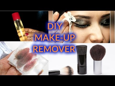 DIY make up remover- best natural homemade makeup remover