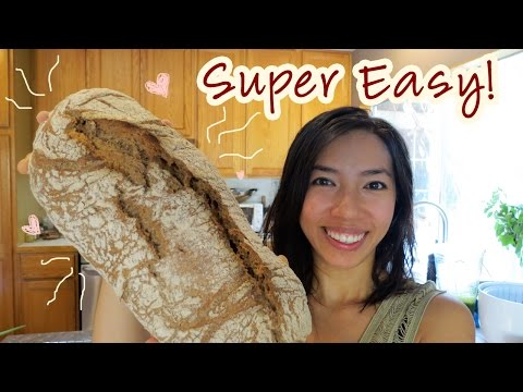 Easy No Knead Artisan Bread For Holidays