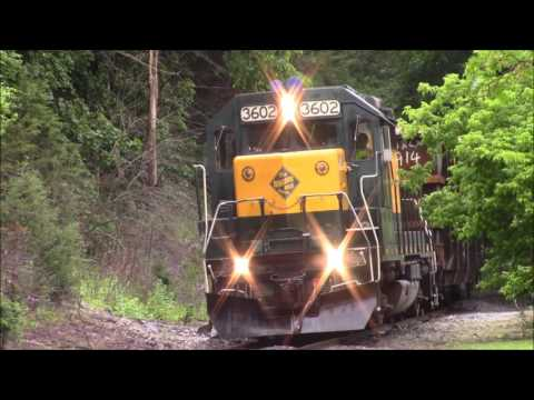 Housatonic Railroad Danbury to New Milford 6/6/17
