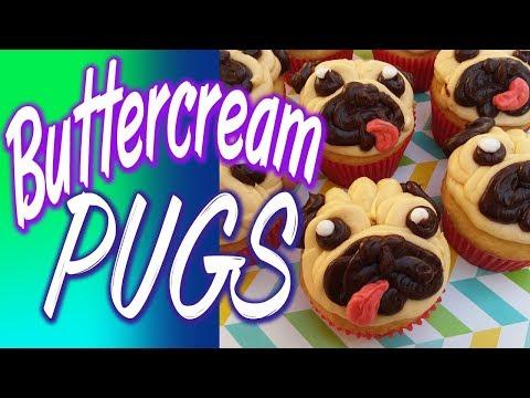 Buttercream Pugs!