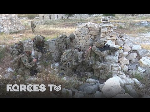 The Fundamentals Of Soldiering: Attacking A Mock Enemy | Forces TV