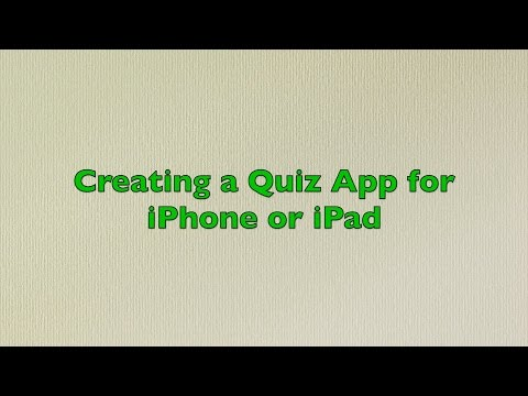 Creating a Simple App for iPhone - Quiz for Capital of Countries