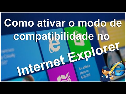 How to activate compatibility mode in Internet Explorer (PT)