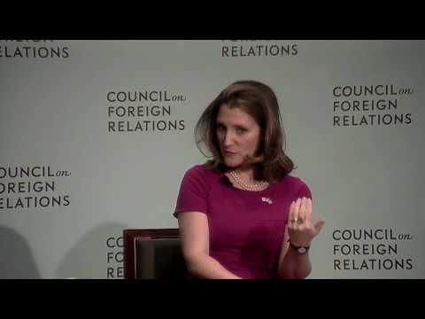 Clip: Freeland on NAFTA Contingencies