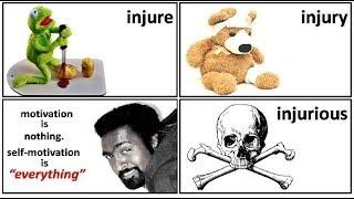 19.2 injure injury injurer injured injurious meaning in Hindi by Puneet Biseria