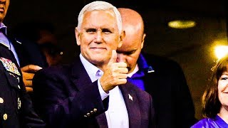Mike Pence FAILS Embarassingly In PR Stunt at Colts Game