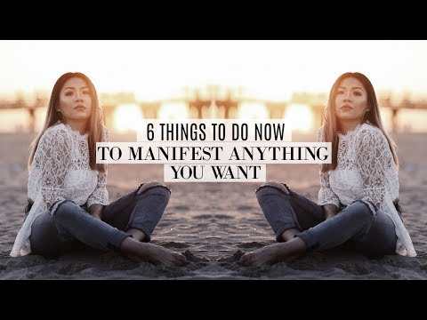 6 STEPS TO MANIFESTING ANYTHING YOU WANT | How to Law of Attraction | Motivational Mondays Ep 5