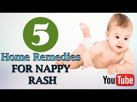Home Remedies For Nappy Rash | Home Remedies For Severe Diaper Rash