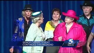 Seniors put on cabaret show for hearing aids