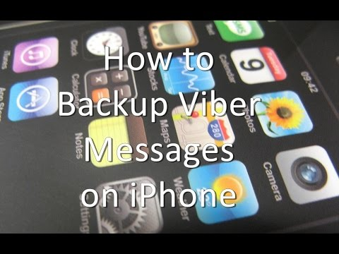How to Backup Viber Messages on iPhone and iPad