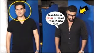 Arbaaz Khan IGNORES Arjun Kapoor In Front Of Media At Karan Johar's Party