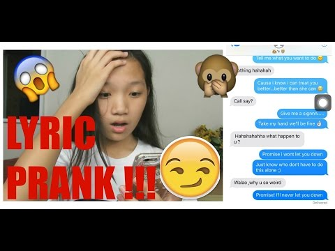 Lyric Prank on FRIEND'S BOYFRIEND with ''Treat You Better'' by Shawn Mendes