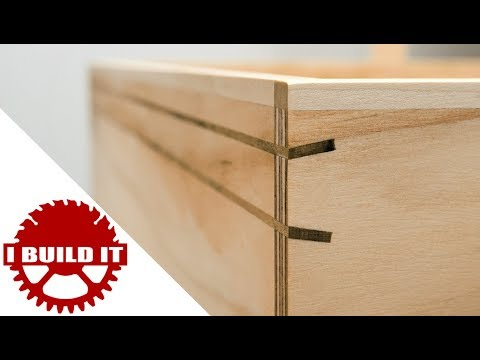 Another Easy Way To Reinforce Drawers / Butt Joints