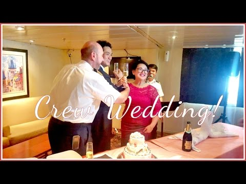 CREW MEMBERS GETTING MARRIED! - Celebrity Millennium 2017