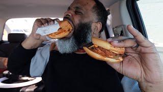 McDonald's NEW Spicy Chicken vs Popeyes Spicy Chicken Sandwich