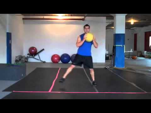 40 20 MMA Med Ball Workout