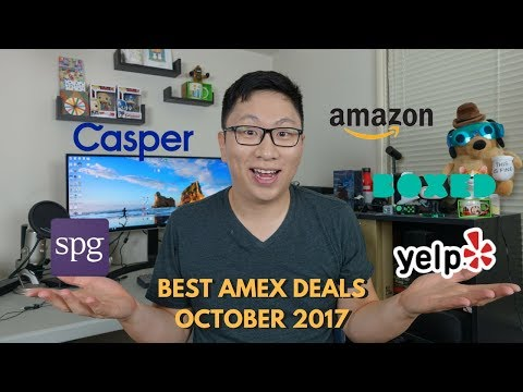 Best Amex Deals and Offers October 2017 (Targeted)