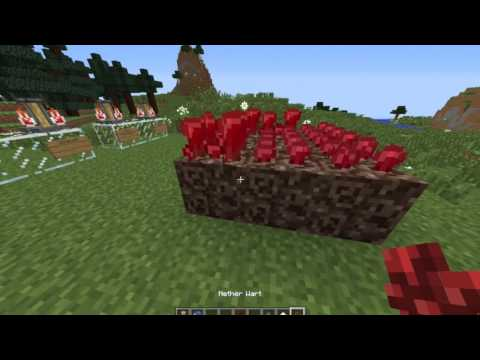 Minecraft: How to make potions (Part 1?)
