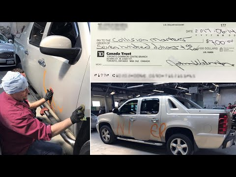 Car Shop Owner Removes Racist Graffiti For Free, Says 'Something I Had To Do'