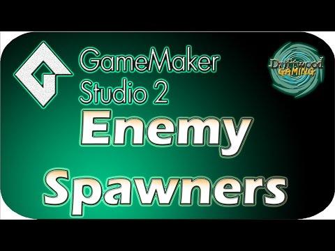 GMS 2 Tutorial - Enemy Spawners - Easy Animation - GameMaker Studio 2 Tutorial