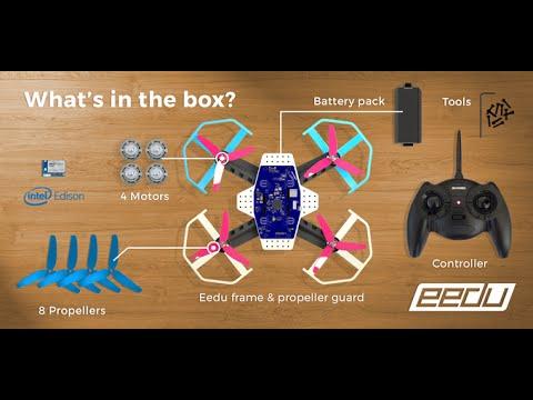 Future Technology : EEDU - Programmable Drone Starter Kit by Intel