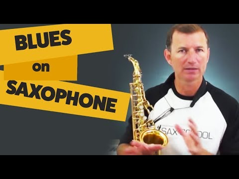 Getting started with the blues online saxophone lesson from www.mcgillmusic.com Sax School