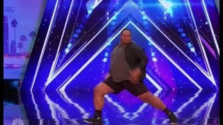 Oscar Hernandez: a BIG GUY with Some Swagger   Auditions 3   America's Got Talent 2017