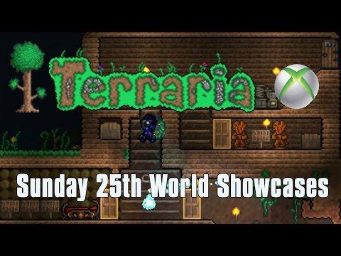 Terraria XBOX ONE/360 WORLD SHOWCASES SUNDAY 25th ft. Ankh Shield