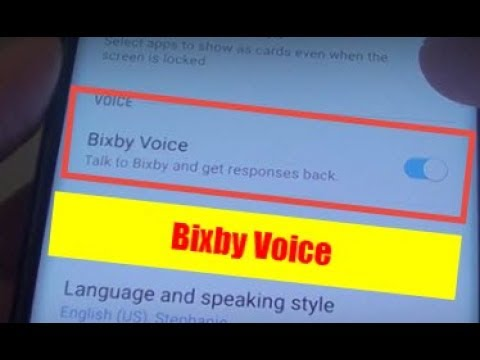 Samsung Galaxy S9: How to Enable / Disable Bixby Voice