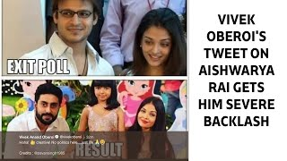Vivek Oberoi's Tweet On Aishwarya Rai Gets Him Severe Backlash