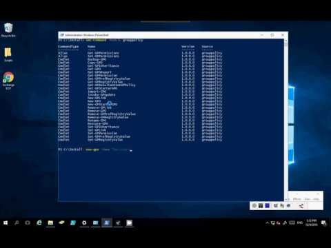 Backup And Restore Group Policy Using Powershell Windows Server 2016