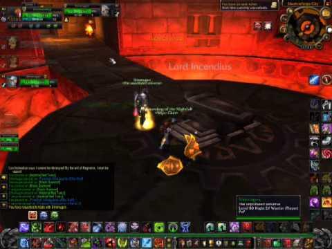 Death knight getting Thunderfury and Hand of Ragnaros