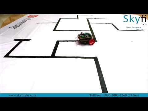 Learn to Build a Maze Solver Robotics Project Yourself at Home  - Skyfi Labs