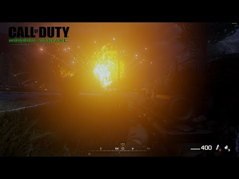 Call of Duty: Modern Warfare Remastered - Friendly AC-130 assists Captain Price