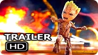 """GUARDIANS OF THE GALAXY 2 """"Angry Baby Groot"""" Trailer + NEW Clip (2017) Chris Pratt Action Movie HD"""