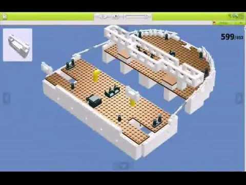The Making of Lego Titanic (LDD)