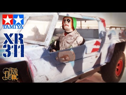 RC TAMIYA XR311 with Animated Driver