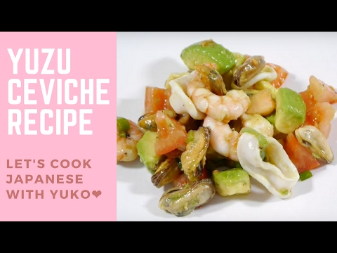 Seafood Yuzu Ceviche - Easy & Healthy Japanese Recipe