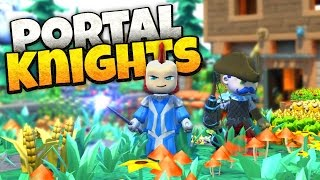 Portal Knights - Dragon Killing and Shard Collecting! - Portal Knights Gameplay - Sponsored