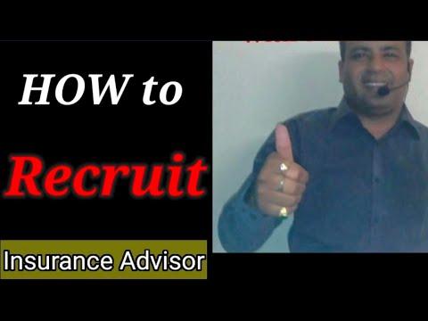 'How to Recruit Insurance Advisors