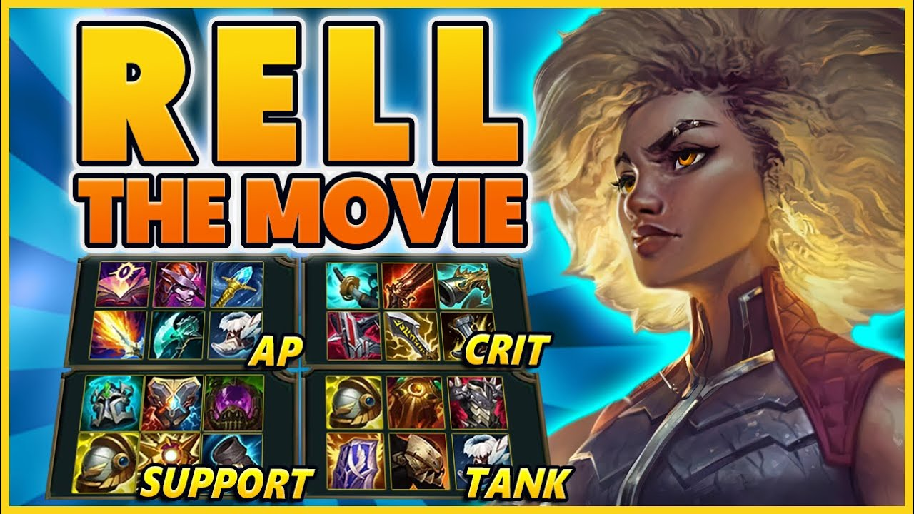 EVERY RELL BUILD IN ONE VIDEO (THE MOVIE) - BunnyFuFuu | League of Legends