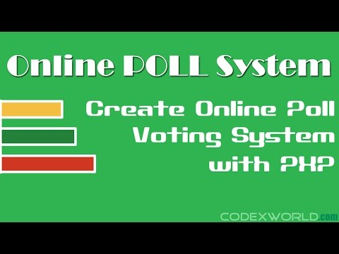 Online Poll and Voting System with PHP and MySQL