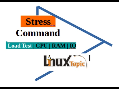 stress command for test load on server